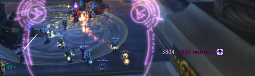 Missile Barrage proc on Ulduar trash