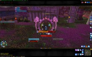 WoW UI screenshot in solo mode
