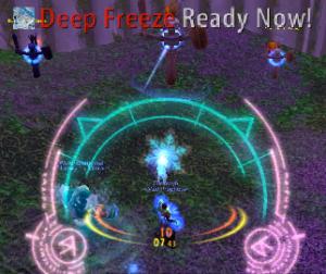 Frosty auras