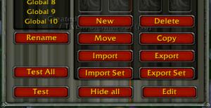 Power Auras Classic - buttons