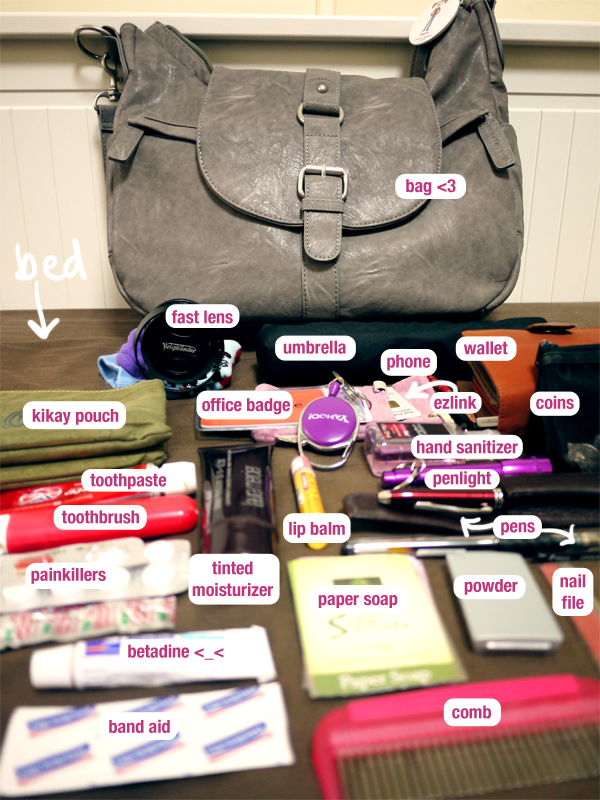 What's in my bag (April 2011)
