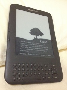 Kindle 3, now more known as the Kindle Keyboard