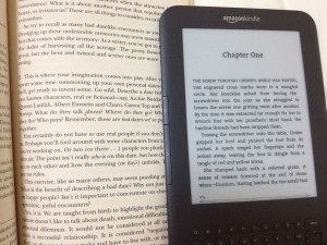Kindle text vs book text: a comparison